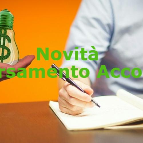 Versamento Acconti, Novità Decreto Fiscale